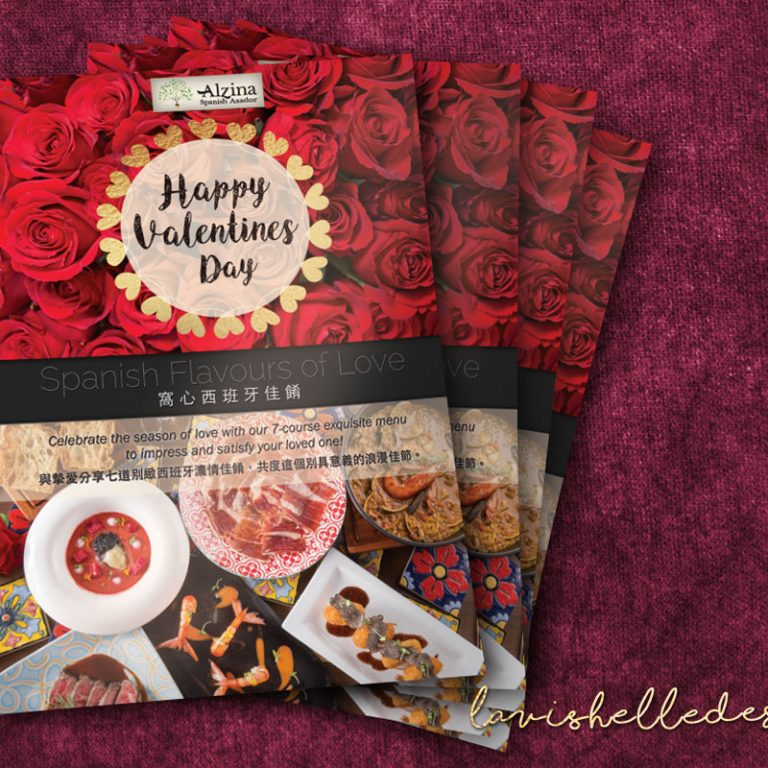 Valentine's restaurant flyer design